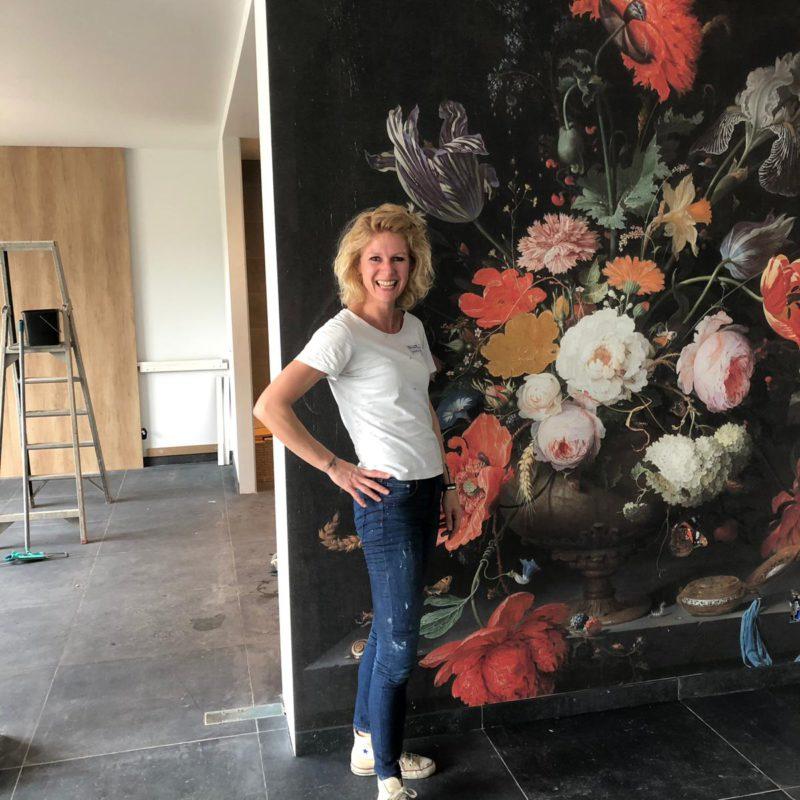 KAAT... behang enzo - Karin Blokland